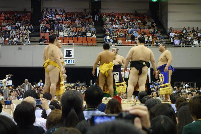 大相撲地方巡業大阪場所 相撲甚句