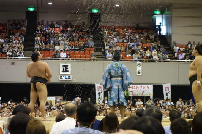 大相撲地方巡業 初切