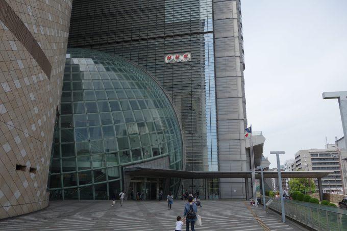 NHK大阪 外観