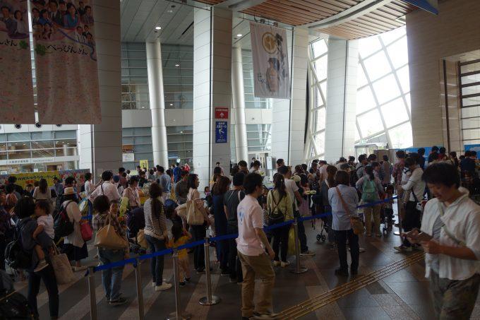 NHK大阪 エントランス 写真コーナー