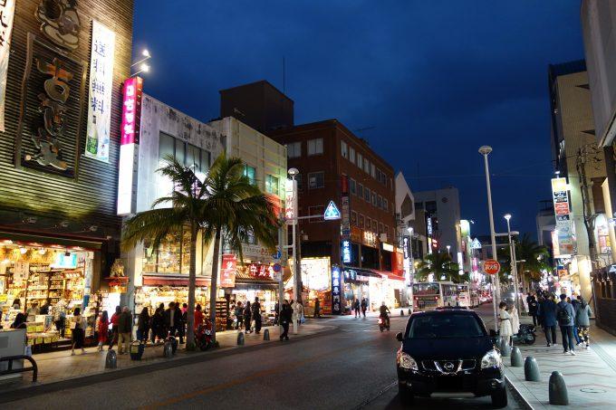 沖縄旅行で那覇【国際通り】を歩くなら夜が楽しい!