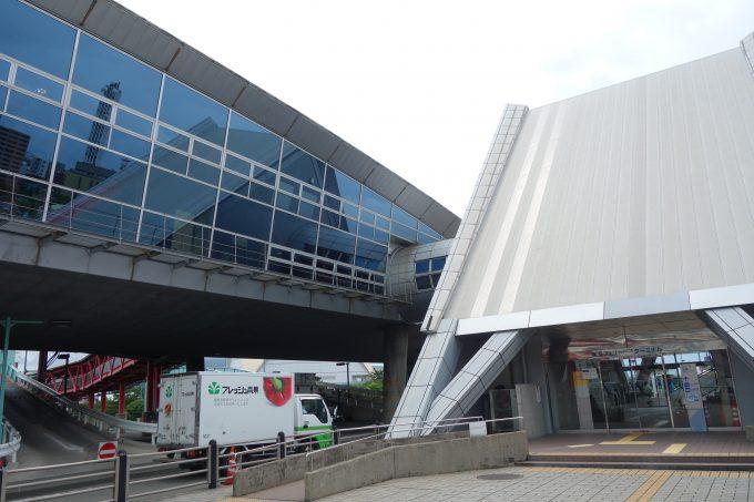 桜島行きフェリーターミナル