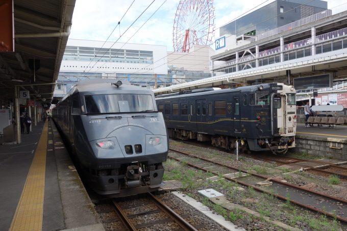 鹿児島駅 特急きりしま