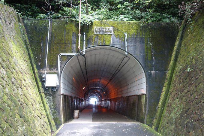 鵜戸神宮 参道のトンネル