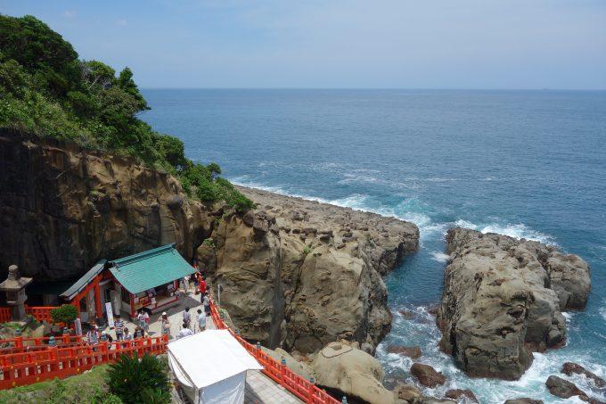 【鵜戸神宮(うどじんぐう)】宮崎|絶景!海の洞窟神社
