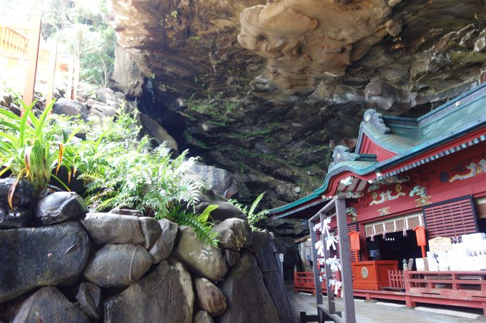 鵜戸神宮 洞窟内