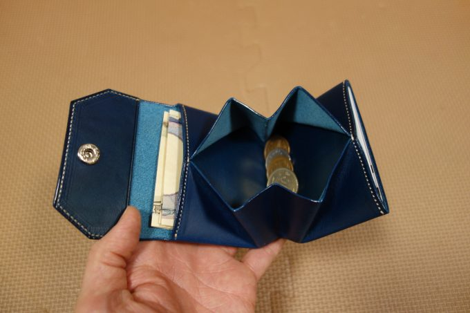 ATELIER Hab(アトリエハブ)折り畳み財布 全体イメージ