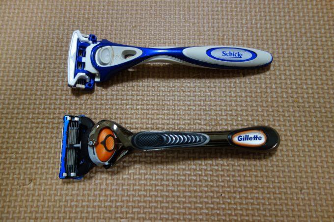 【ひげそり比較】シックとジレットで悩んだら。よく剃れるのは「ジレット」