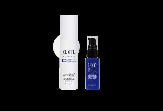 HOLOBELLホロベル 男性用オールインワン保湿ジェル 商品パッケージイメージ