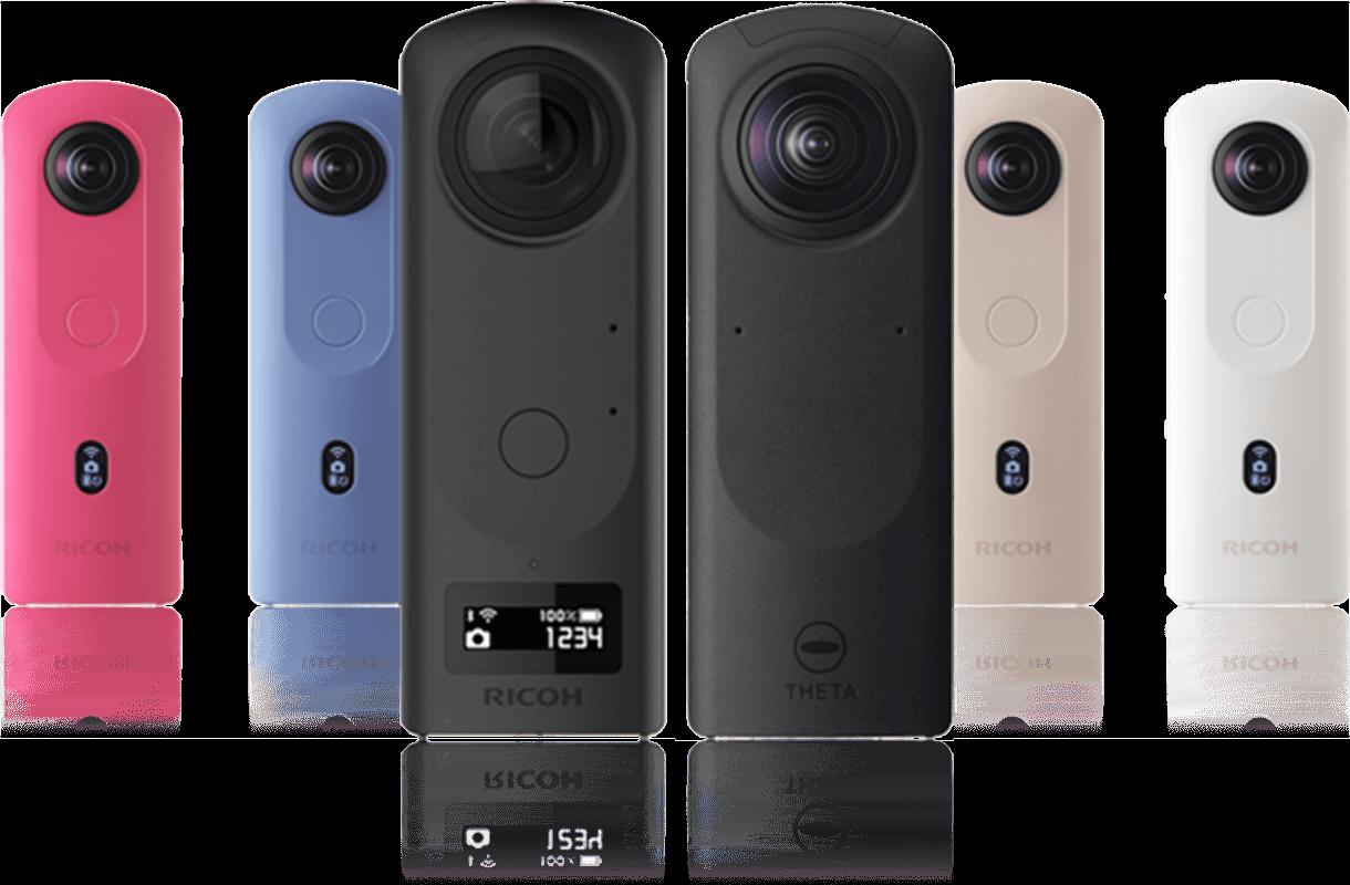 360度カメラ リコーシータのイメージ