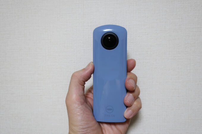 360度カメラ リコーシータ
