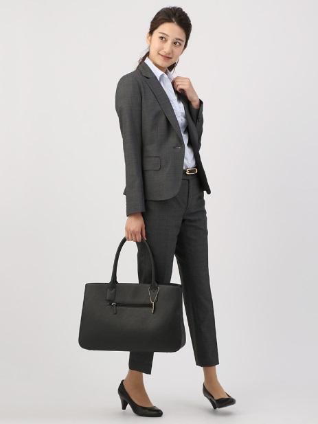 スーツカンパニーのレディースピンチェックジャケット